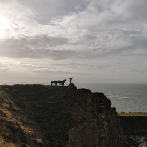 Clifftop views Argentina