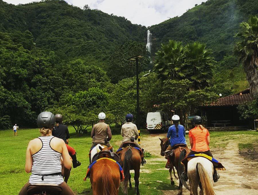 Juan Curi Falls Colombia