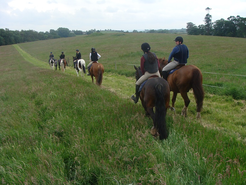 Ireland, castle leslie, cross country riding