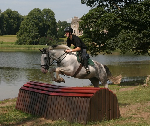 Ireland, castle leslie, cross country jumping