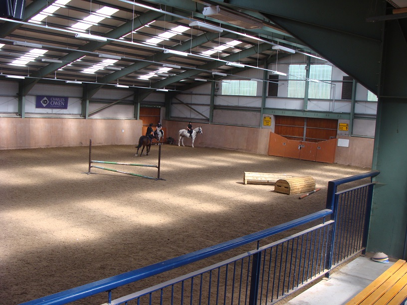 Ireland, Castle Leslie, horses, riding, indoor arena