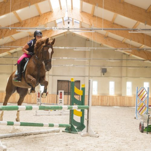 Galiny Palace, Indoor school, jumping