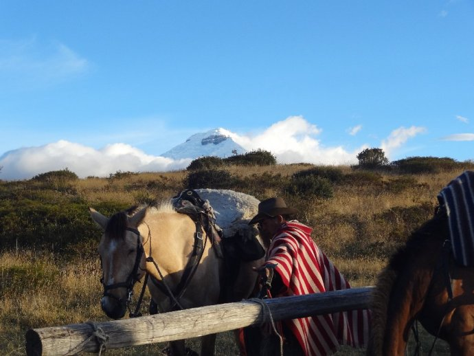 Riding in Cotopaxi