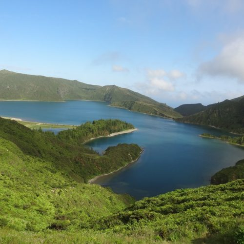 Azores, Relaxed ride, horse riding, fire mountain