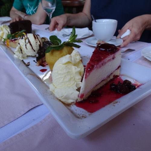 Dessert in Skopje