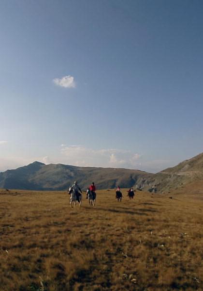 Riding in Macedonia