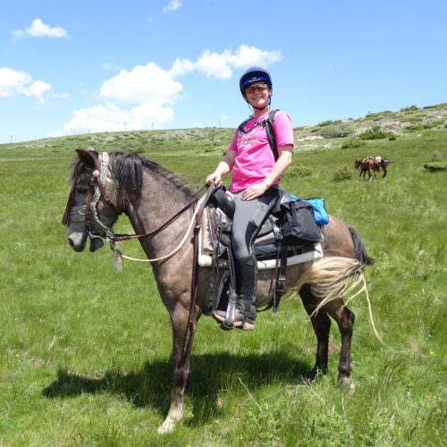 riding horses in Macedonia