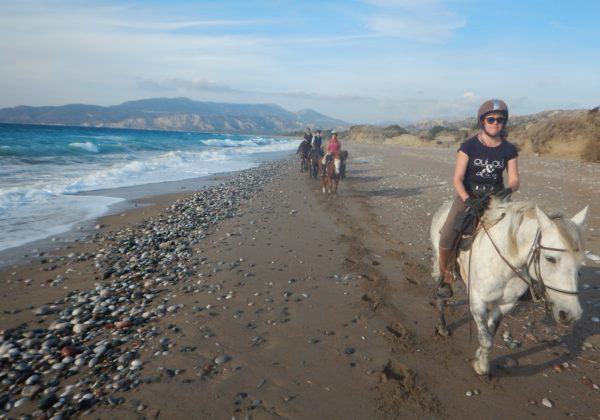 , Five reasons why you should go to Rhodes, In The Saddle