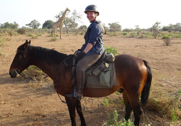 Tuli Trail Safari, Kicking up dust in the African bush., In The Saddle