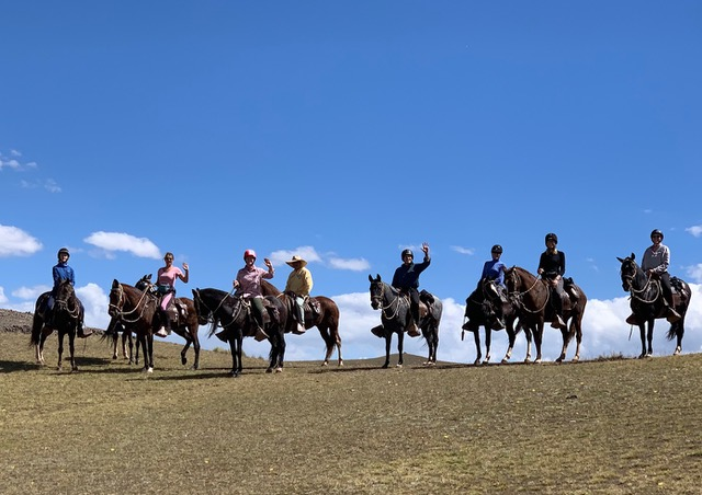 Sacred Valley Ride in Peru, A ride in the Kingdom of the Incas, In The Saddle