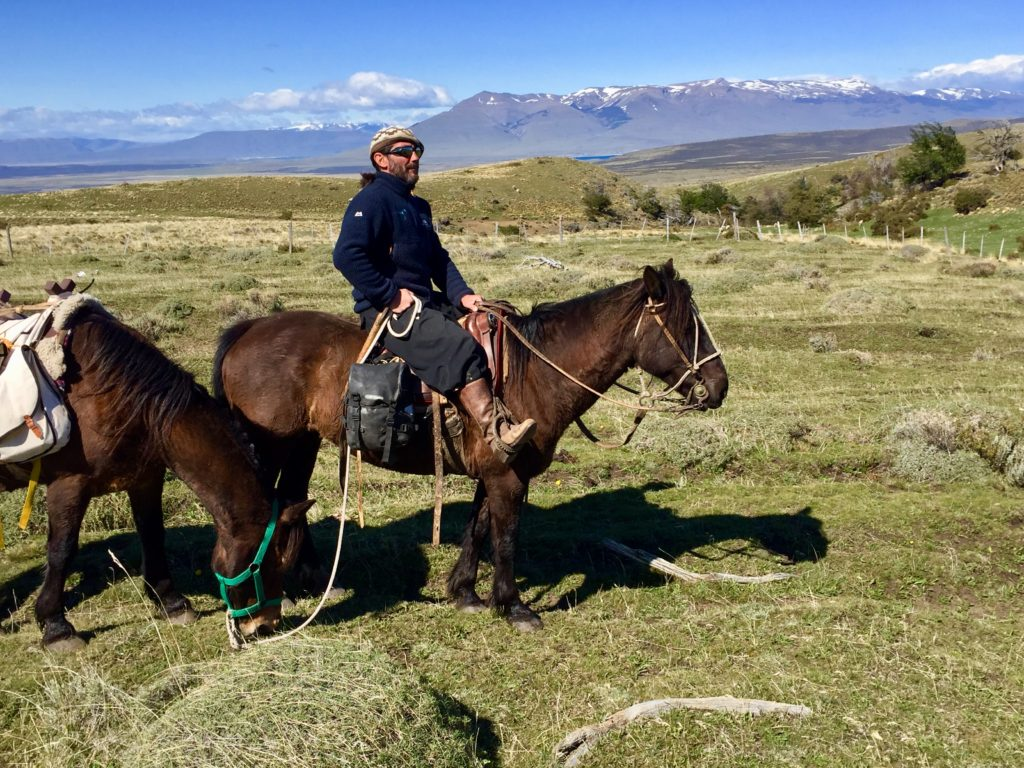 Riding trip Chile