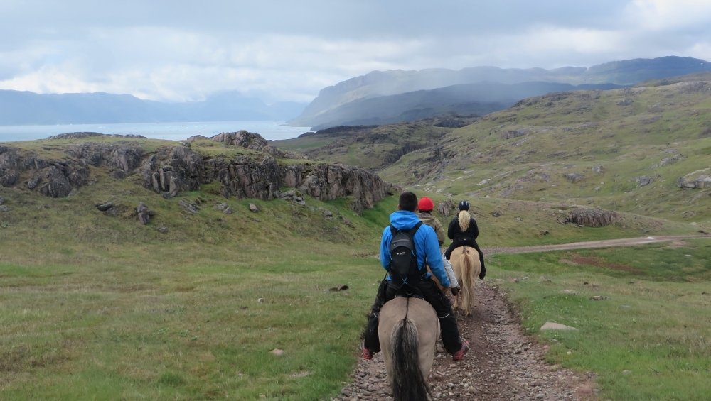 Adventures in Greenland, Adventures in Greenland, In The Saddle